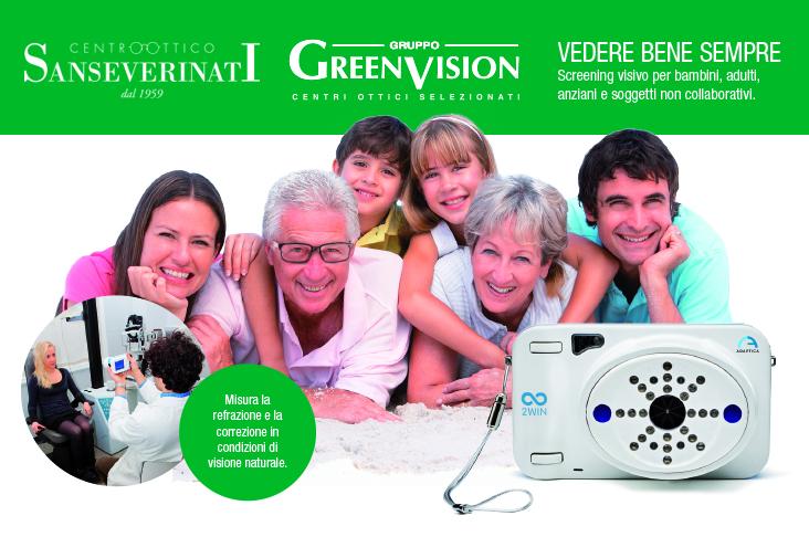 green vision misurazione delle vista